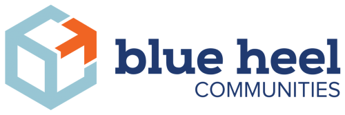blue heel development