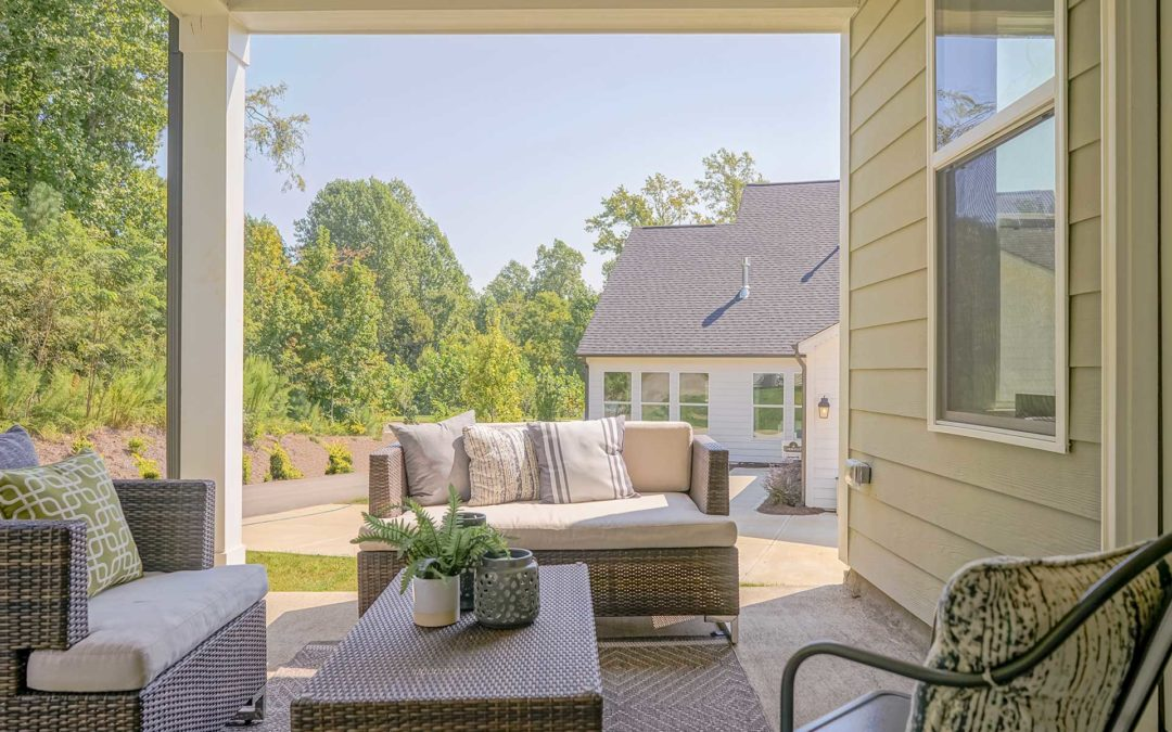 How to create your perfect outdoor living space