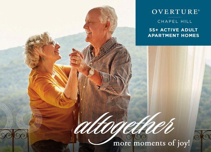 overture chape hill 55 active adult apartment